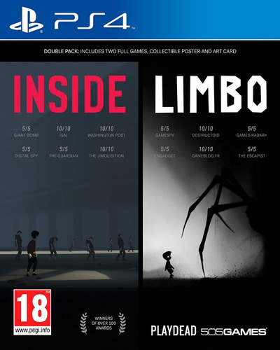 inside + limbo double pack ps4