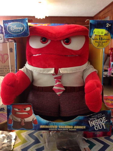 inside out anger de peluche disney store