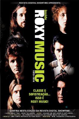 inside roxy music 1972-1974  dvd original oferta imperdível!
