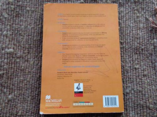 insights 1- mc millan- student's book / workbook