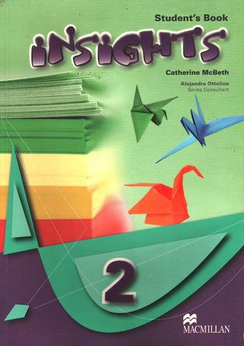 insights 2 student's book by catherine mcbeth nuevo oferta