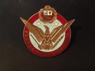 insignia auto fuerza aerea peruana