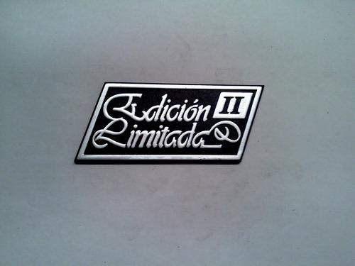 insignia baul renault 18 edicion limitada i i autoadhesiva