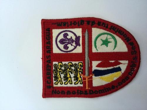 insignia colección scouts aragua campamento carepas 2003