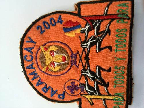 insignia colección scouts aragua manada acantonamiento