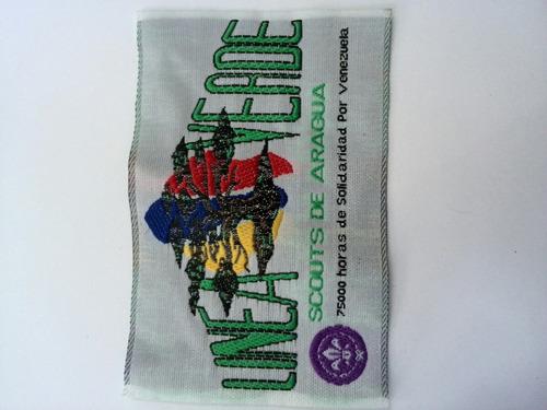 insignia colección scouts aragua servicio línea verde 2009