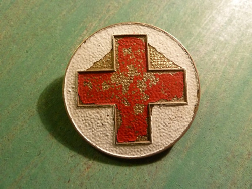 insignia cruz roja - vp