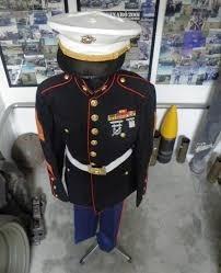 insignia cucarda original gorra marines usmc