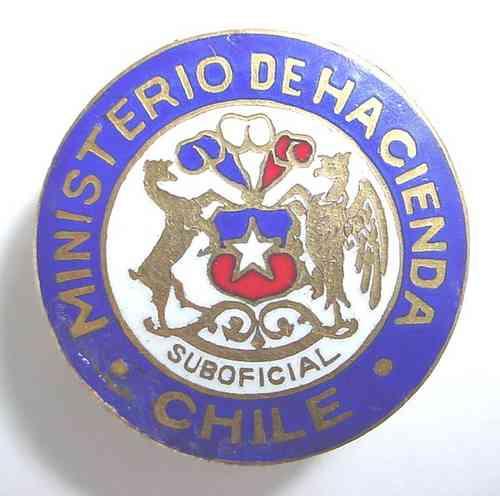 insignia del ministerio de hacienda