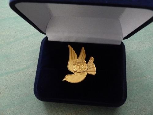 insignia distrito naval con estuche - vp