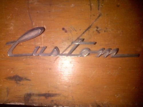 insignia rambler custom