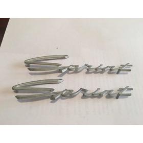 Insignia Sprint Chica Aleación Aluminio