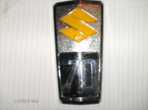 insignia suzuki 70