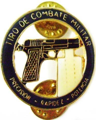 insignia tiro de combate militar