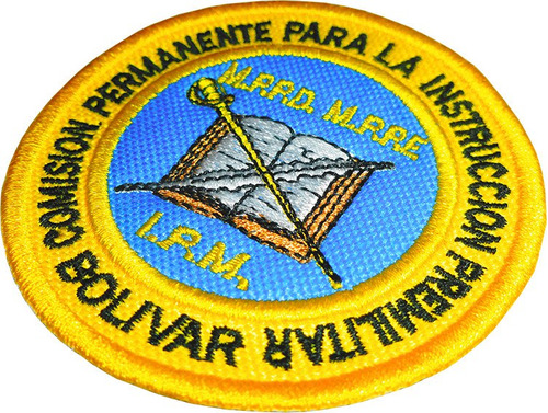 insignias bordadas termoadhesivas de premilitar para franela
