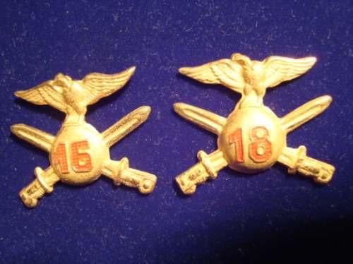 insignias destacamento andino 16-18. ejercito de chile (4)