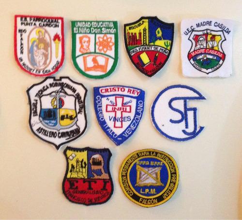 insignias escolares bordadas