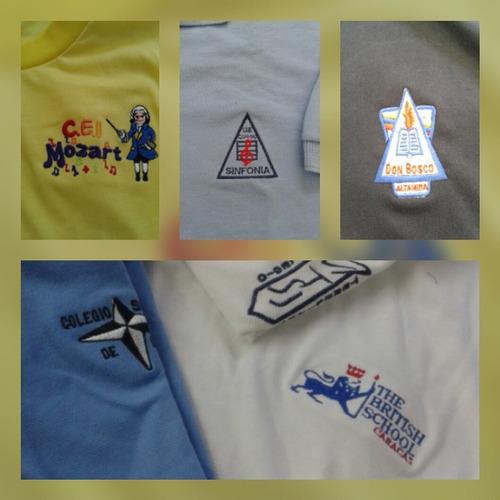 insignias escolares, parches, logos