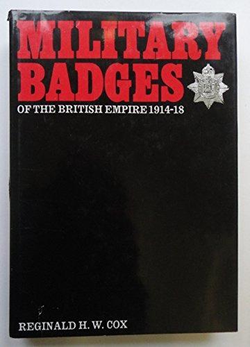 insignias militares del imperio británico, 1914-18 (la gran