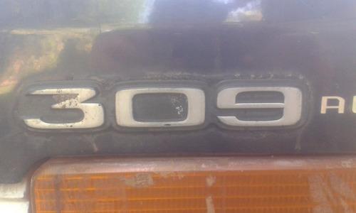 insignias peugeot 309