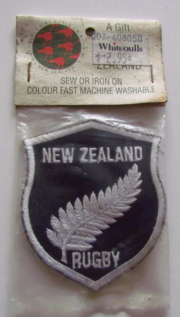 Insignias Rugby All Blacks New Zealand Rugby Original 4 500 En Mercado Libre