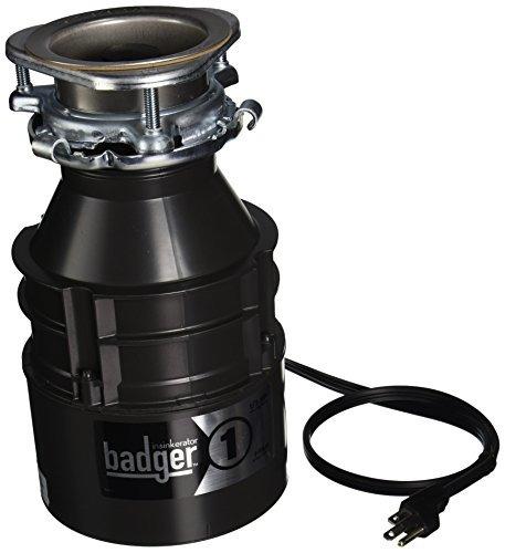 insinkerator badger1cord disposicion de residuos domesticos