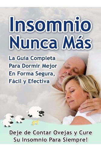 insomnio nunca más, cure su insomnio, insomnio, libro, bonos