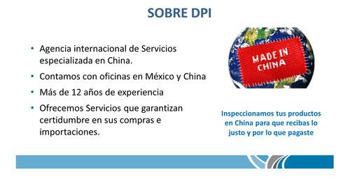 inspeccion y control de calidad en china
