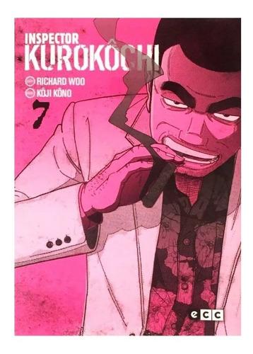 inspector kurokôchi 07 - ecc ediciones - takashi nagasaki