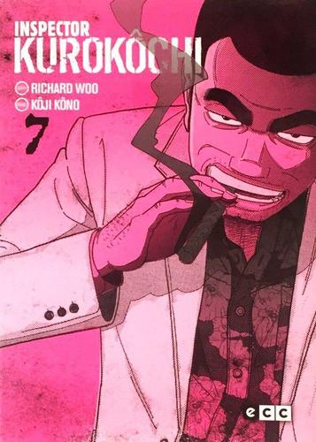 inspector kurokôchi 07 - manga - policial noir - sectas