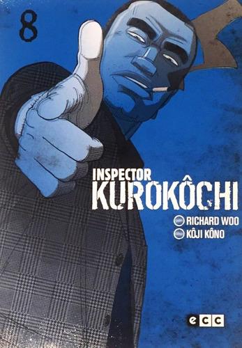 inspector kurokôchi 8 - manga policial noir - terrorismo