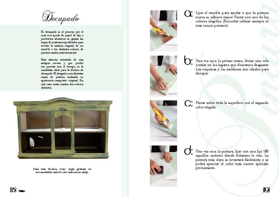 Inspiración Vintage. Libro Sobre Reciclado De Muebles - $ 300,00 en ...