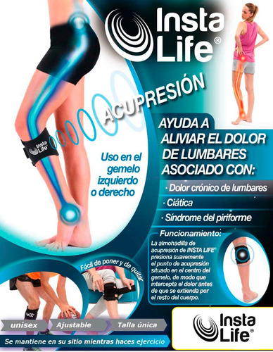 insta life ayuda a aliviar el dolor lumbar original tv
