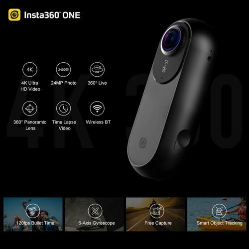insta360 #1 4k 360 vr video action sports camera