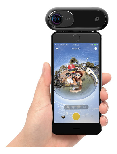 insta360 one 4k 360 vr video acción deportes cámara 24mp