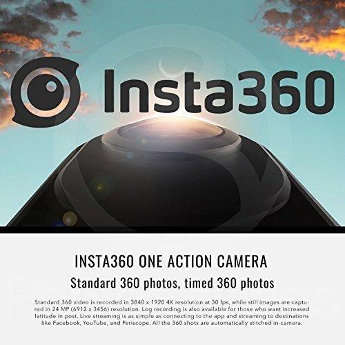 insta360 one action camera para ios con tarjeta microsd prof