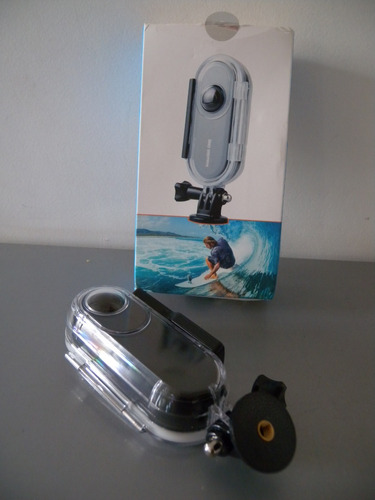 insta360 one case prova d'agua mergulho