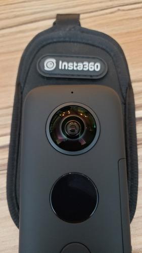 insta360 one x camera nova com insta 360 stick