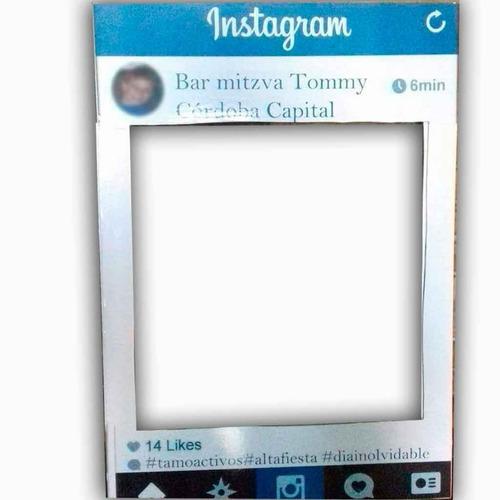 instagram gigante 1 metro x 0.70 cuadro selfies