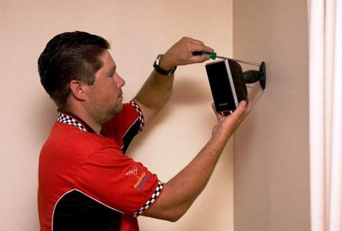instal. de home theater / configuración de audio&video