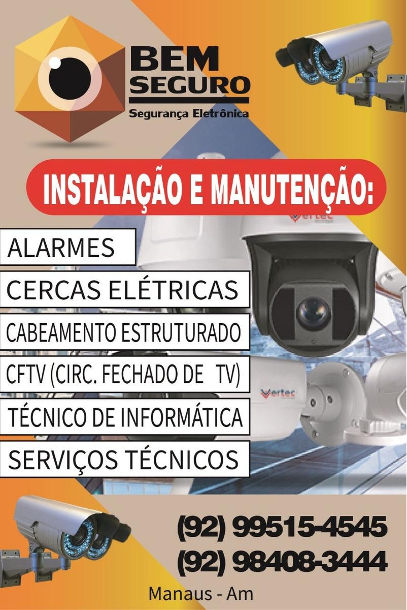 Instalacao De Cameras De Seguranca  Alarmes Residenciais - em ... 3cf65d26aca85
