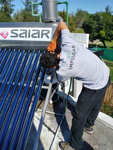 instalaciòn y mantenimiento de termotanques solares