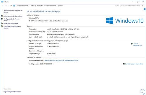 instalación, actualización, reparación, optimización. etc