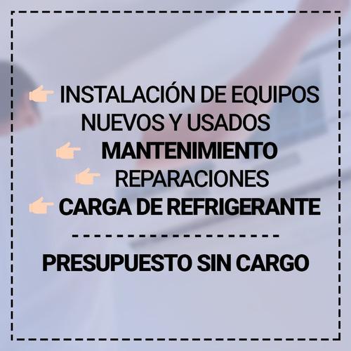 instalacion aire acondicionado 24 hs mantenimiento maldonado