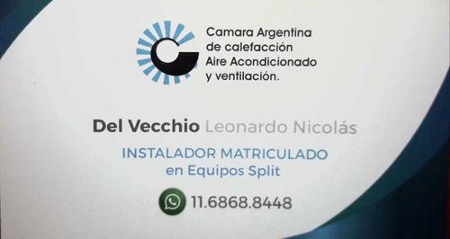 instalación aire acondicionado - carga