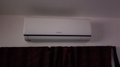 instalacion aire acondicionado, durlock, electricidad, etc.
