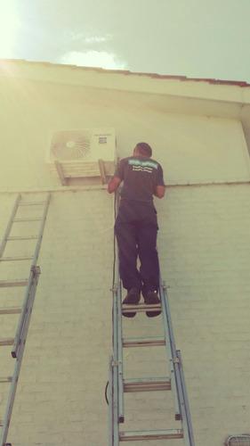 instalacion aire acondicionado inverters refrigeracion total