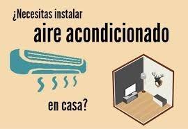 instalación aire acondicionado maschwitz,escobar,etc.