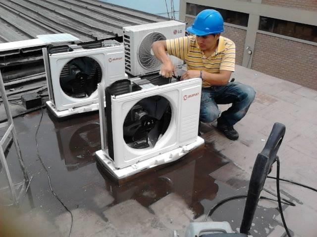 Instalacion aire acondicionado reparaci n mantenimiento for Instalacion de aire acondicionado por conductos