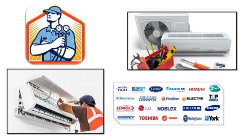 instalacion aire acondicionado servicio reparacion